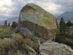Rock Climbing Photo: Dorm Boulder West