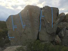 Rock Climbing Photo: College Boulder
