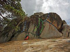 Rock Climbing Photo: Warm up wall. 33.831050, -116.753415