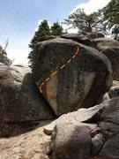 Rock Climbing Photo: High railin.