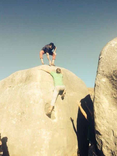 Rock Climbing Photo: Jarrod Alexander on Learning Curve
