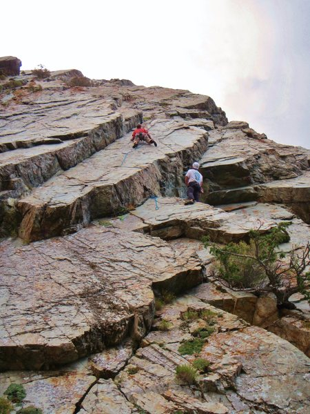 Rock Climbing Photo: Mad Calf Disease (5.11)