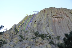 Rock Climbing Photo: View from the paved trail near the halfway mark.