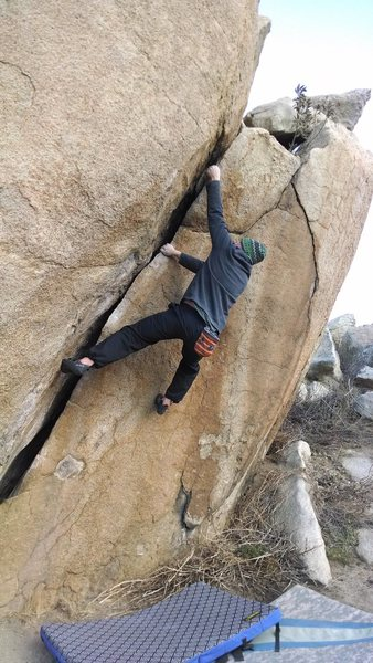 The grunt crack at tumbleweed rock