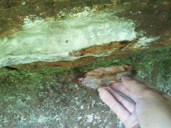 Rock Climbing Photo: WAIT 2-3 DAYS AFTER IT RAINS - Chunk off the right...
