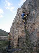 Jon Kephart on the second ascent