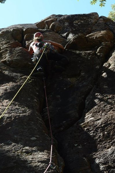 """Katie Carpenter on the first ascent of """"Bad Mamajama"""""""