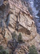 Strone Crag North Face