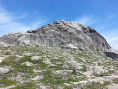 Rock Climbing Photo: The south east corner of the Main Topsail.