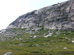 Rock Climbing Photo: Part 1 of 3 (East Face of Main Topsail)