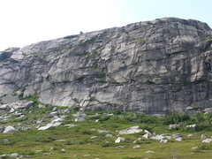 Rock Climbing Photo: Part 2 of 3 (East Face of Main Topsail)