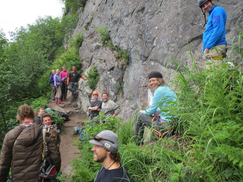 Valdez Rock Climbing Festival 2014
