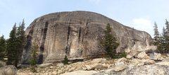 Rock Climbing Photo: Canopy World SW face ...