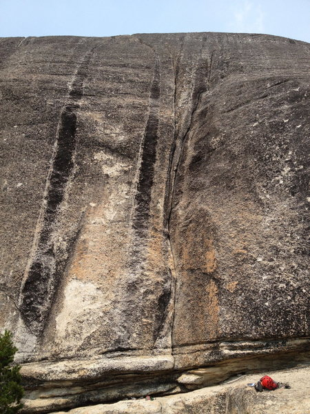 Rock Climbing Photo: Trick Shot