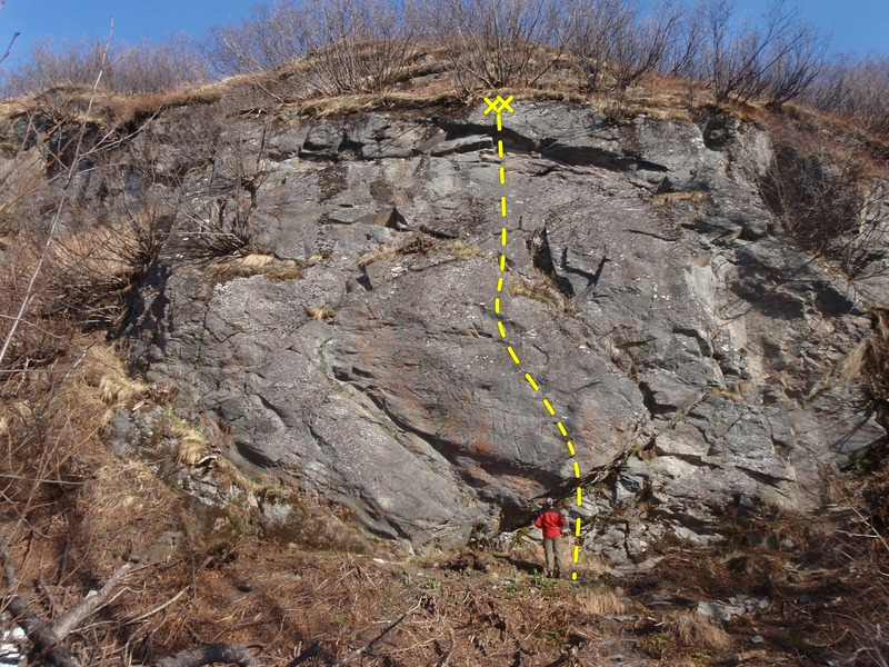 Rock Climbing Photo: Start on the fun and technical bulge and thin face...