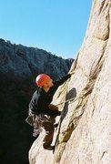 Rock Climbing Photo: Narrows, Sunshine wall, Cool Dude 5.8
