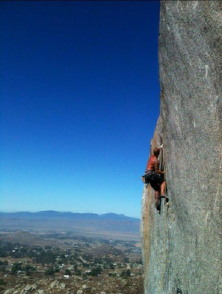 Rock Climbing Photo: Lizard King Crack!!!