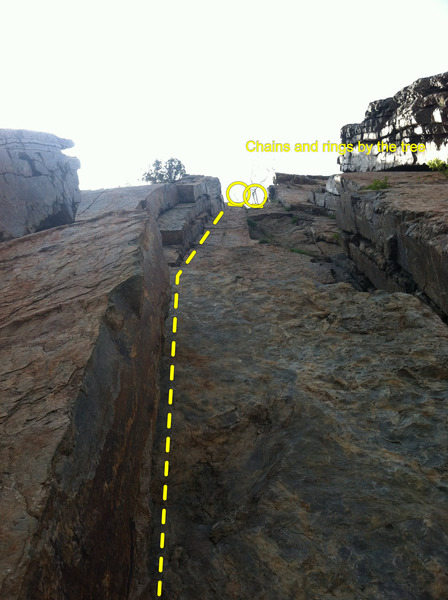 One of the funnest cracks I've ever climbed in quartzite
