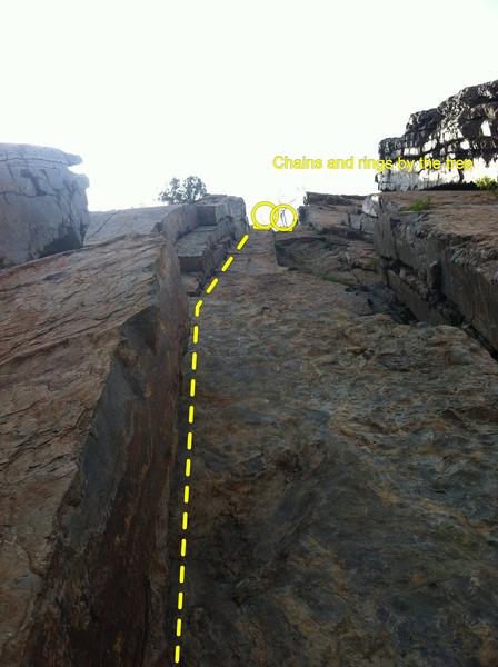 Rock Climbing Photo: One of the funnest cracks I've ever climbed in qua...