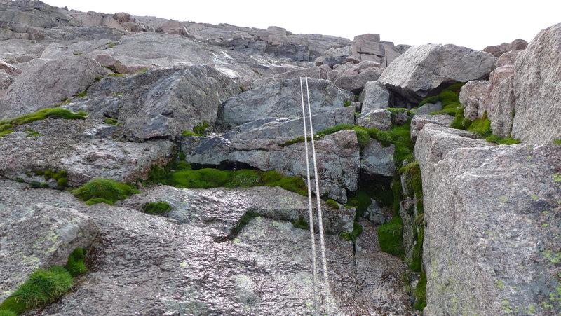 Rock Climbing Photo: Cables.