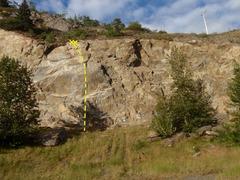 Rock Climbing Photo: A fun variation of Gain-A-Turn.