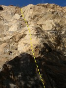 Rock Climbing Photo: Be carefull of sharp edges on this one!