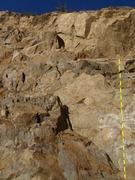 Rock Climbing Photo: Stay off this climb.