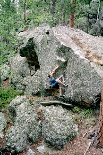Rock Climbing Photo: Chip Phillips FA 2001 PHOTO: Chip Phillips Collect...