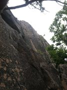 Rock Climbing Photo: Emigrant Crack as seen from Old Town ledge