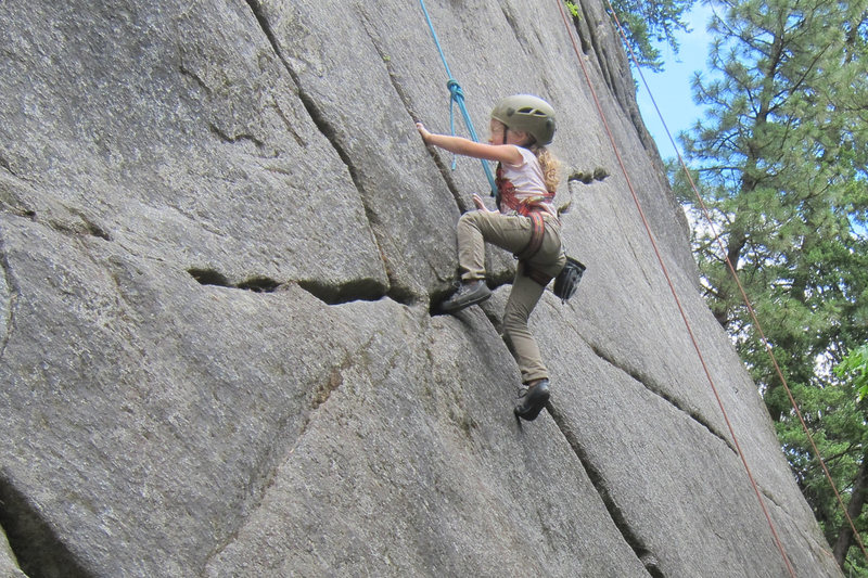 Rock Climbing Photo: First outdoor trip Leavenworth Wa.
