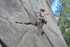 Rock Climbing Photo: First outdoor trip Leavenworth Wa.