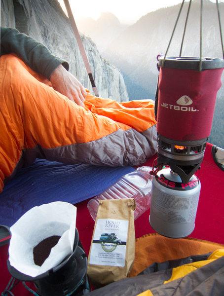 Coffee on El Cap