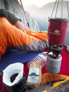 Rock Climbing Photo: Coffee on El Cap