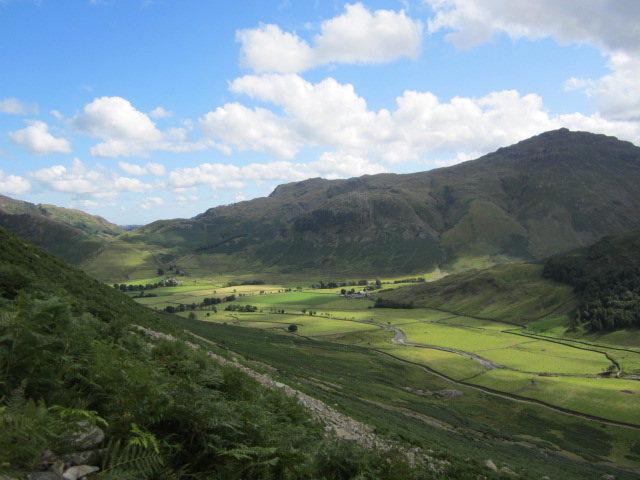 Rock Climbing Photo: Langdales green valley