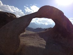 Rock Climbing Photo: Love this arch, a must see