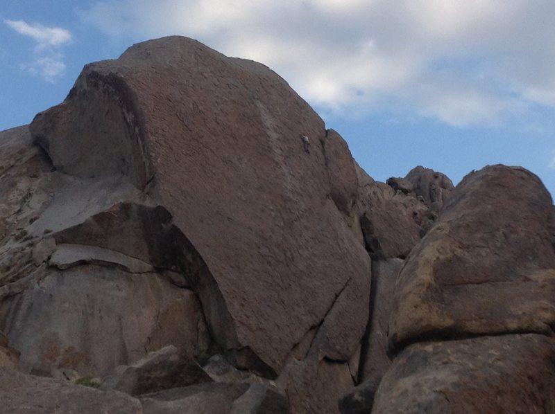 Rock Climbing Photo: Mike Fogarty, Alabama Hills Gang
