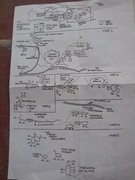 Rock Climbing Photo: 1984 CA Bouldering Contest overview map.