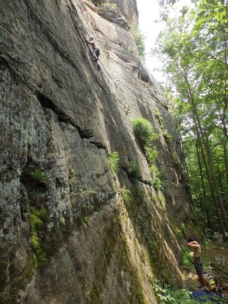 Climbing Manic Impression 5.10a