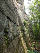 Rock Climbing Photo: Climbing Manic Impression 5.10a