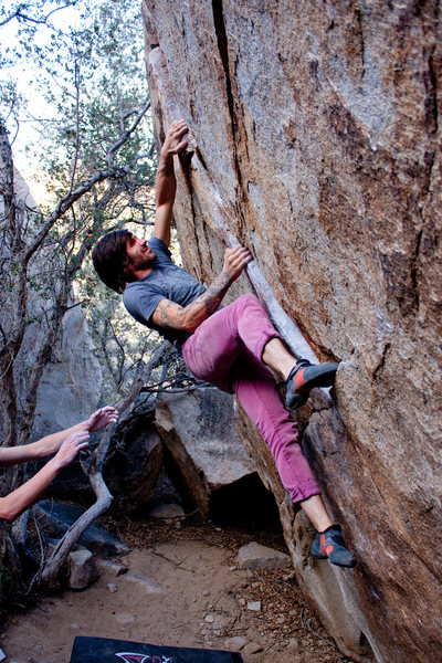 Rock Climbing Photo: EJ Deluxe. Photo by Christopher Jacobsmeyer