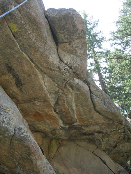 Rock Climbing Photo: Cracked Shell tackles this crack/bearhug.  It feel...