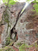 Rock Climbing Photo: another route that looks pretty short and tame