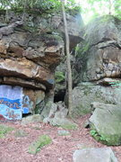 Rock Climbing Photo: Western side of the Crag, also the low side. a mai...