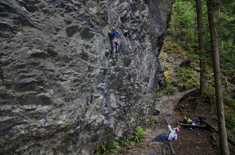 Rock Climbing Photo: Me climbing