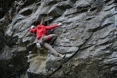 Rock Climbing Photo: Seth at Nevermind