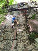 Rock Climbing Photo: Chossy!