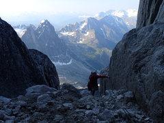 Rock Climbing Photo: Lots of loose rock!