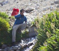 Rock Climbing Photo: Amazing spring on the decent