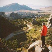 Rock Climbing Photo: city of rocks, Idaho