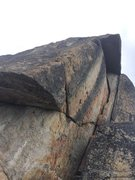 Rock Climbing Photo: You can the the majority of the crack here. It is ...